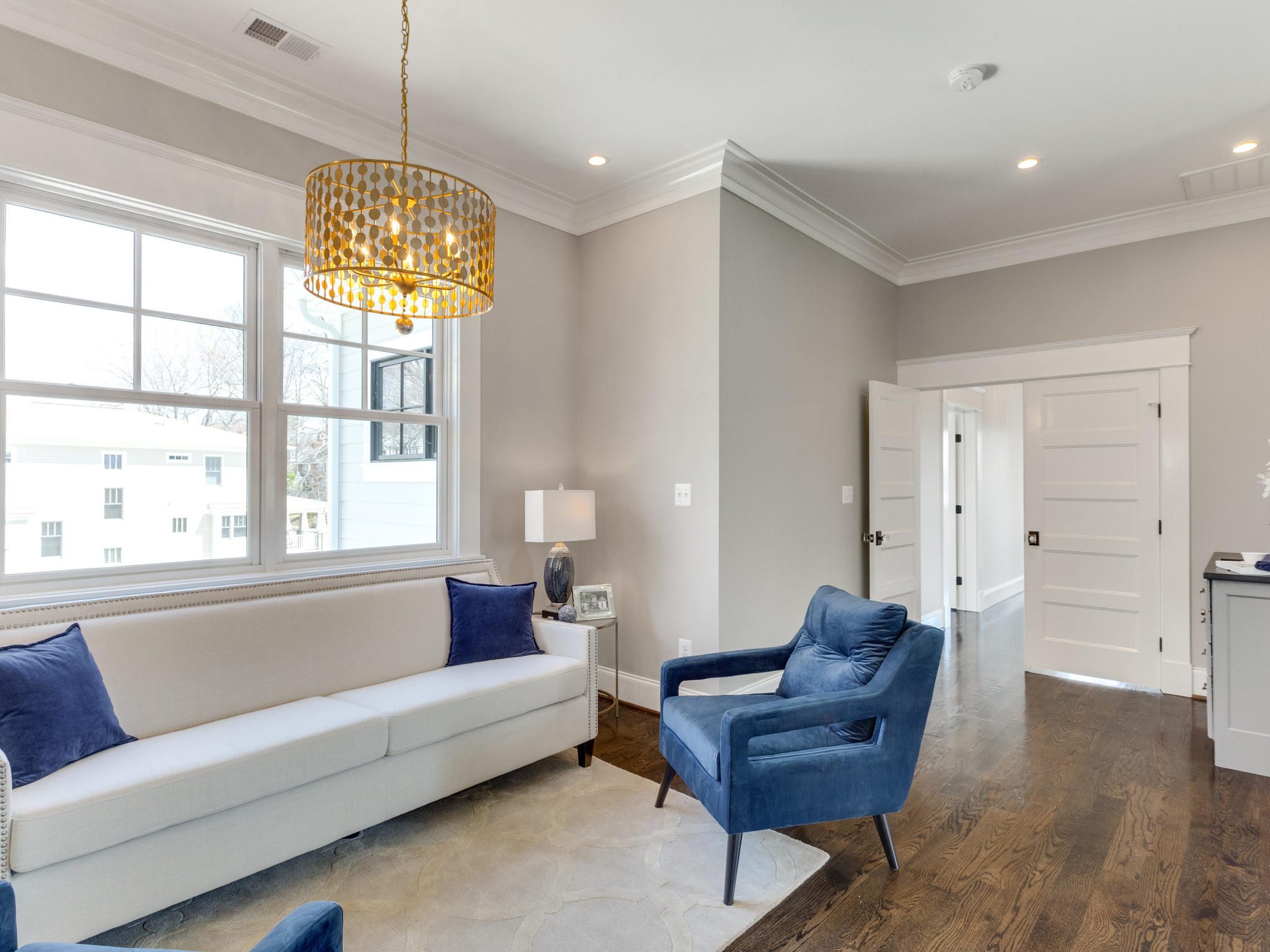 Master suite, weekend retreat. Custom Home by Custom Builder, North Arlington, VA 22207